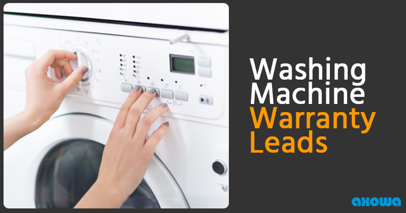 #1 Washing Machine Warranty Leads - Data from a Trusted ...